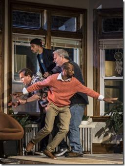 Review: Support Group for Men (Goodman Theatre)