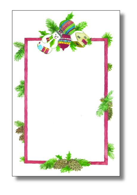 Blank Christmas Party Invitations