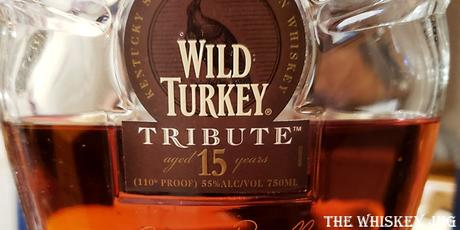 Wild Turkey Tribute 15 years Label