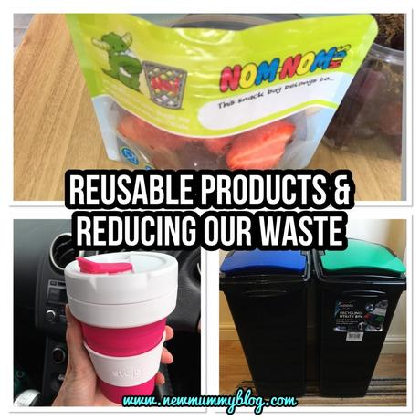 Everyday ways we use reusable products to reduce our waste