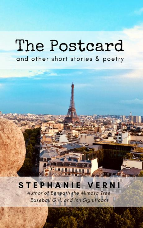 Unveiling the Cover of My Newest Book! The Postcard and Other Short Stories & Poetry