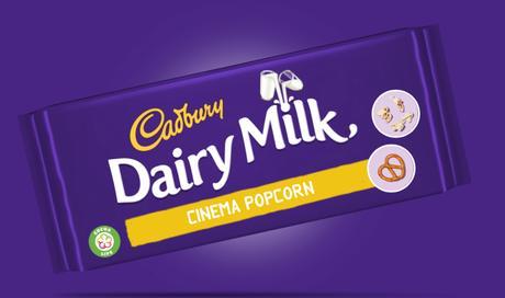 Trade your cinema snacks for new Cadbury Dairy Milk . . .
