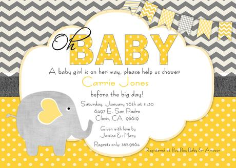 Make Baby Shower Invitations Online For Free