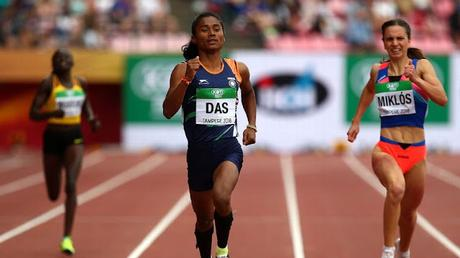 Hima Das does India proud in U20 IAAF at Finland