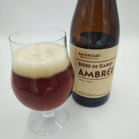 Ambrée Biére De Garde – Backroads Brewing