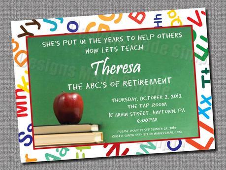 Teacher graduation invitations paperblog teacher graduation invitations filmwisefo
