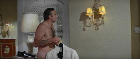 Bond's White Dinner Jacket in Diamonds are Forever