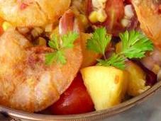 Recipe: Australian Prawns with Peach Salsa2 Read
