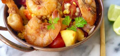 Recipe: Australian Prawns with Peach Salsa2 min read