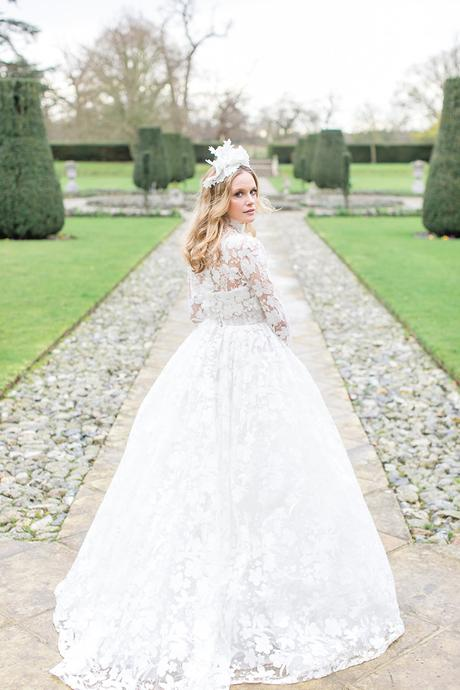 Opulent styled shoot in a manor house