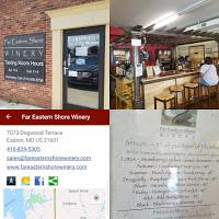 Far Eastern Shore Winery: Slghtly Sweet, Fruit Infused Wines