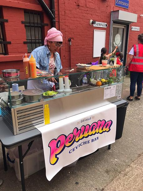 Food: Peruana Peruvian Ceviche Pop Up