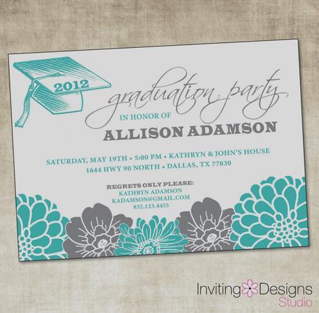 Custom graduation party invitations paperblog custom graduation party invitations filmwisefo