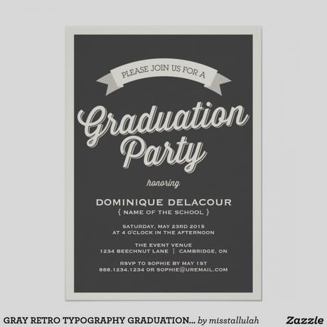 Custom graduation party invitations paperblog custom graduation party invitations filmwisefo