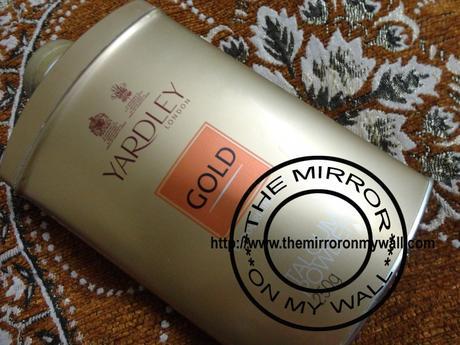 Yardley London Gold Talc Review