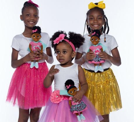 Superhero  Doll hopes to help young black girls beat low self esteem