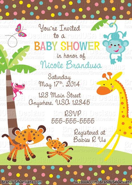 Cheap Personalized Baby Shower Invitations Paperblog