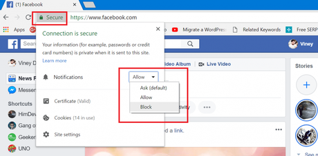 How to Turn Off Facebook Notifications in Chrome Browser - Paperblog