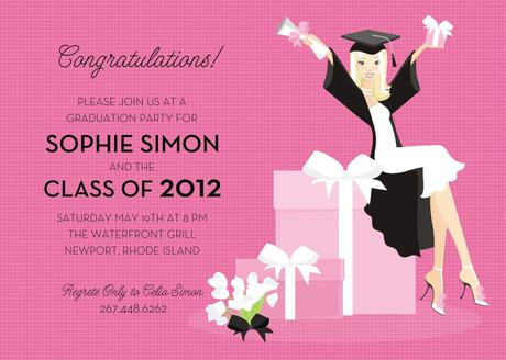 Graduation Reception Invitation