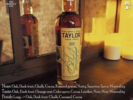 EH Talyor Four Grain Bourbon Review