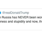 Orange Idiot Blames U.S. Poor Relationship w/Russia