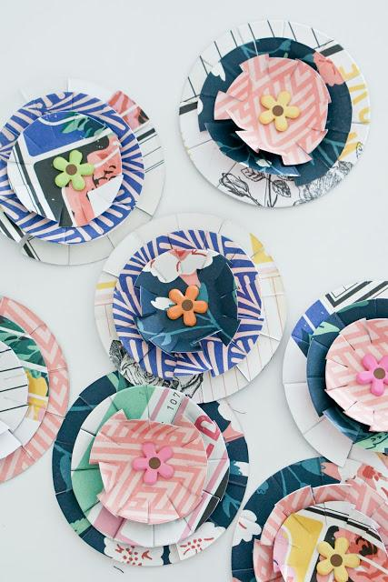 Crate Paper Design Team : Paper Flowers