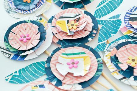 Crate Paper Design Team : Paper Flowers