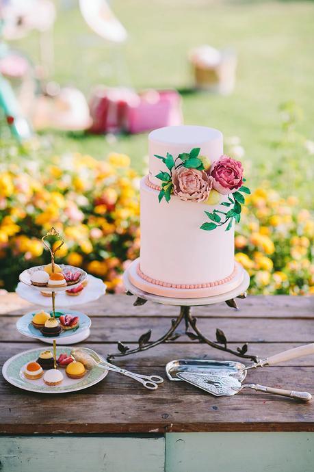 Aphrodite Hills Colorful Summer Wedding Inspiration Shoot