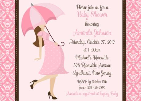 Baby Shower Invitations For Baby Girl