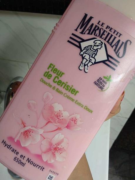 Le Petit Marseillais Body Wash Review – Cherry Blossom