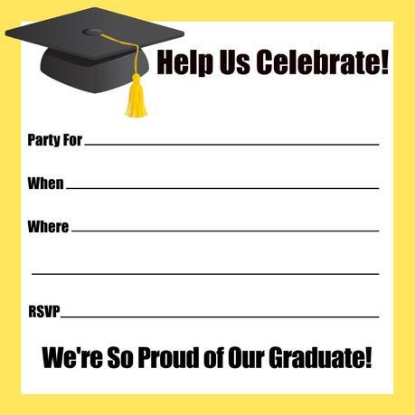 Graduation party invitations templates free paperblog graduation party invitations templates free filmwisefo