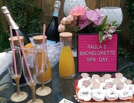 home party with champagne bachelorette party ideas bride hates