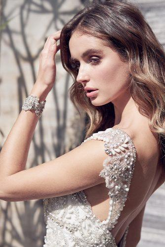 romantic glamour hand beaded embellishment cuff anna campbell 2019