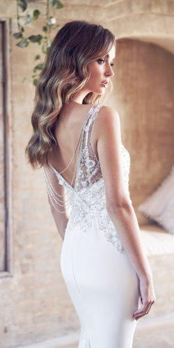 anna campbell 2019 wedding dresses embroidered backless vintage with straps sleeveless crepe de chine paige
