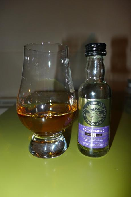 Tasting Notes:  Loch Lomond: 18 Year