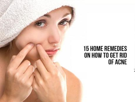 home remedies to clear up acne