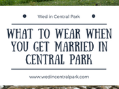 What Wear When Married Central Park