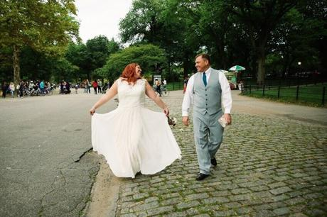 What to Wear When You Get Married in Central Park