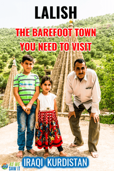 They Actually Make You Go Barefoot in Lalish