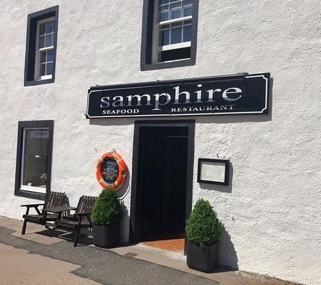 Food: Samphire, Inveraray