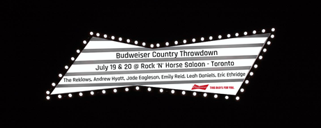 Budweiser Country Throwdown Q&A with Emily Reid and Jade Eagleson