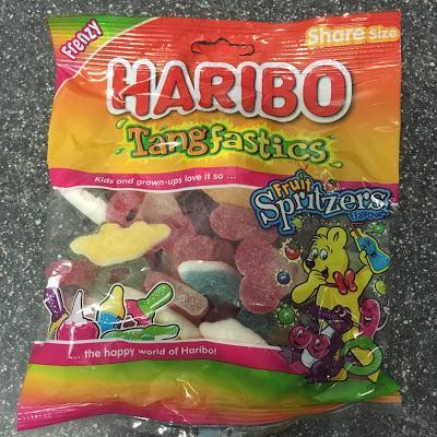 Today's Review: Haribo Tangfastics Fruit Spritzers