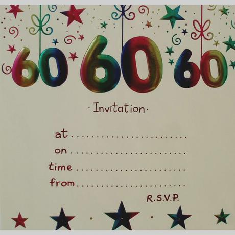 Birthday invitations for 60 year old man paperblog birthday invitations for 60 year old man stopboris Choice Image