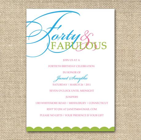 Corporate Party Invitation Wording Ideas