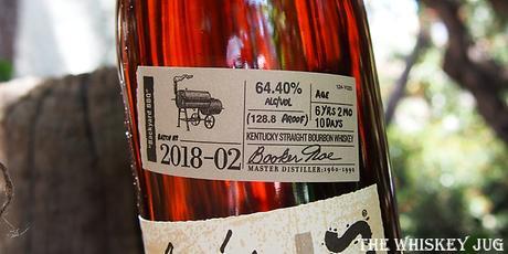 Booker's Bourbon BBQ Batch Label
