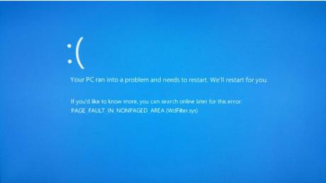 Page_Fault_In_Nonpaged_Area Windows 10