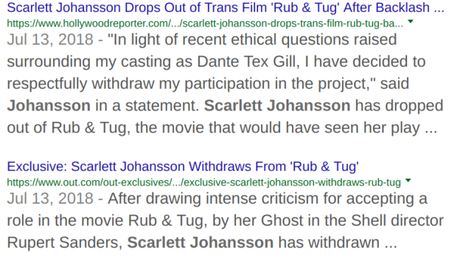 The Scarlett Johansson Rub & Tug Fallout: How Do You Tell Your Own Stories If No Producer Sees a Profit In It?