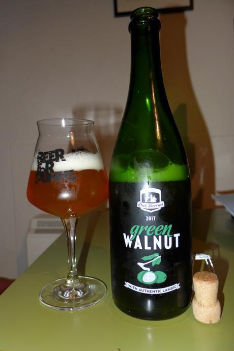 Tasting Notes: Oud Beersel: Green Walnut: 2017