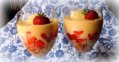 Cream Tea Trifle Pots