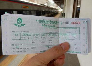 Train Travels: Malaysia to Thailand